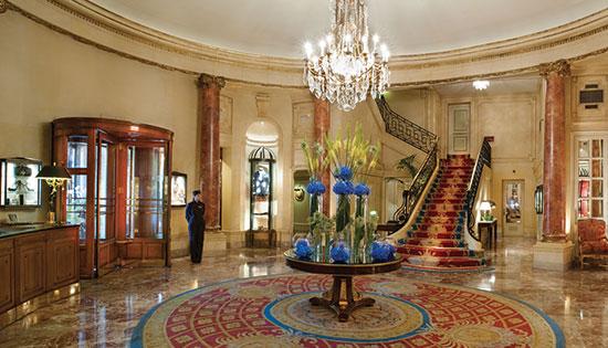Luxe, charme & architecture de l'hôtel
